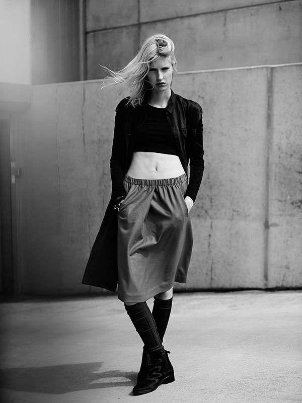 Edgy Fashion Editorials Rock Star Look Edgy