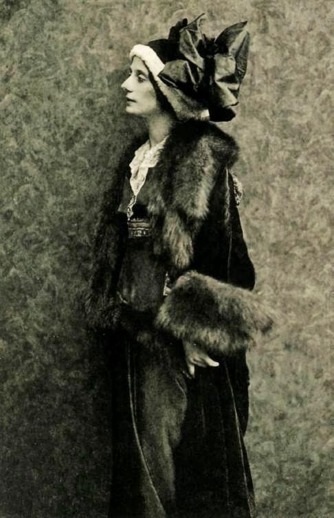 Russian ballerina Anna Pavlova, Berlin, 1913