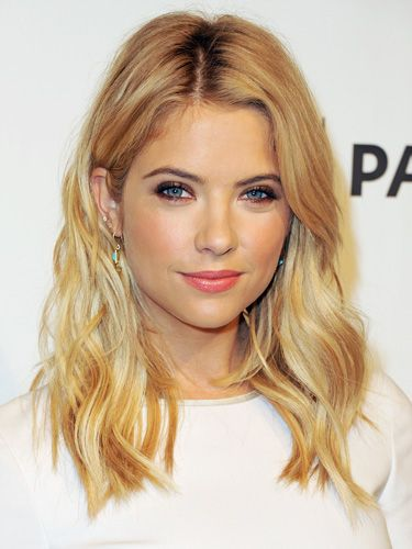 Thinking about trimming the hair... but I love long hair. | Ashley Benson's Shoulder-Length Layers