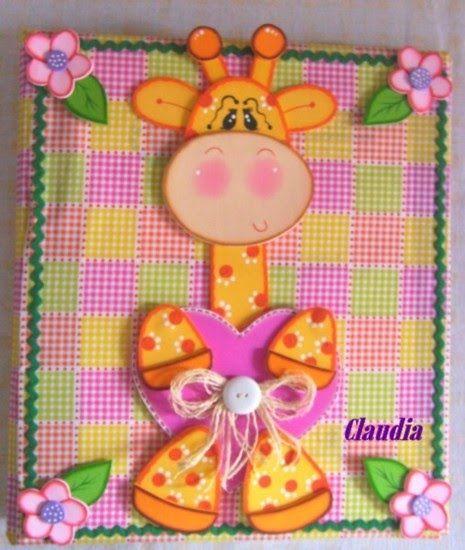 Moldes de fomi para decorar carpetas - Imagui
