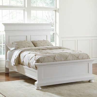 Dobson Panel Bed Color: White, Size: King - http://delanico.com/beds/dobson-panel-bed-color-white-size-king-592897086/