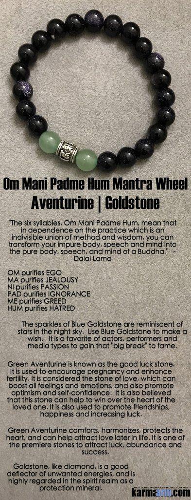 Buddhist Bracelets. Men's Womens Law of Attraction. #LOA. Beaded & Charm Yoga Mala. Meditation Mantra. Spiritual.