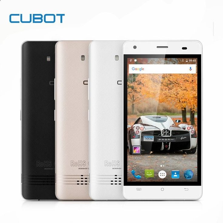 Unlocked Smartphones - CUBOT ECHO 5.0 Inch Unlocked Smartphone 2GB RAM 16GB ROM 3000mAh Cell Phone Android 6.0 MTK6580 Quad Core Mobile Phone