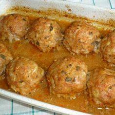 Húsgombócok sörös mártással Recept képpel -   Mindmegette.hu - Receptek