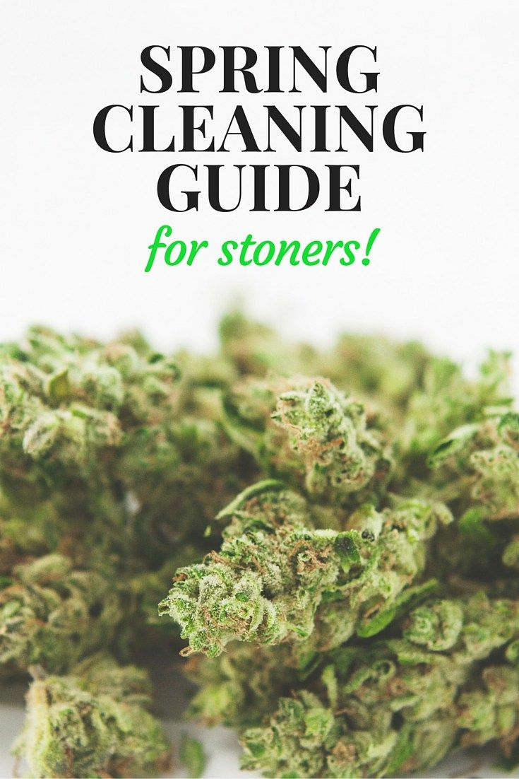 Spring Cleaning for Stoners