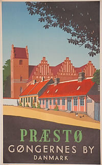 Poster: Præstø Artist: Spliid