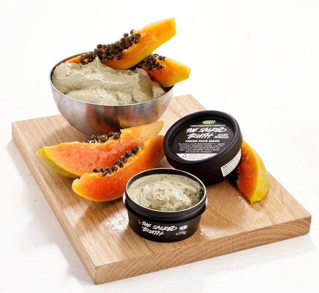 LUSH Fresh Face Mask *Sacred Truth (Papaya, Green Tea & Coconut Oil)