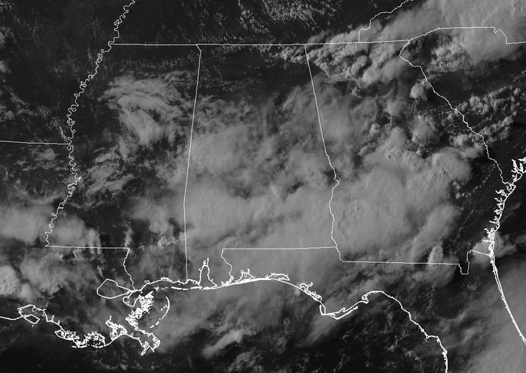 A Quick Look At Our Saturday Weather Situation At 6:00PM  : The Alabama Weather Blog