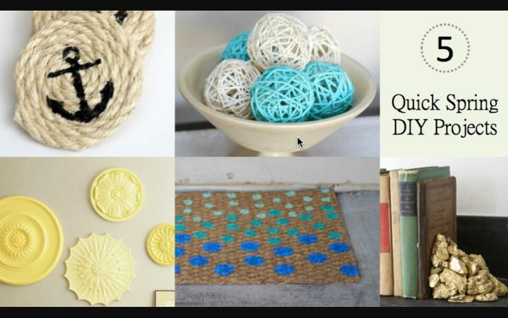 29 best diys images on pinterest bricolage diys and do it yourself diy spring projects solutioingenieria Images