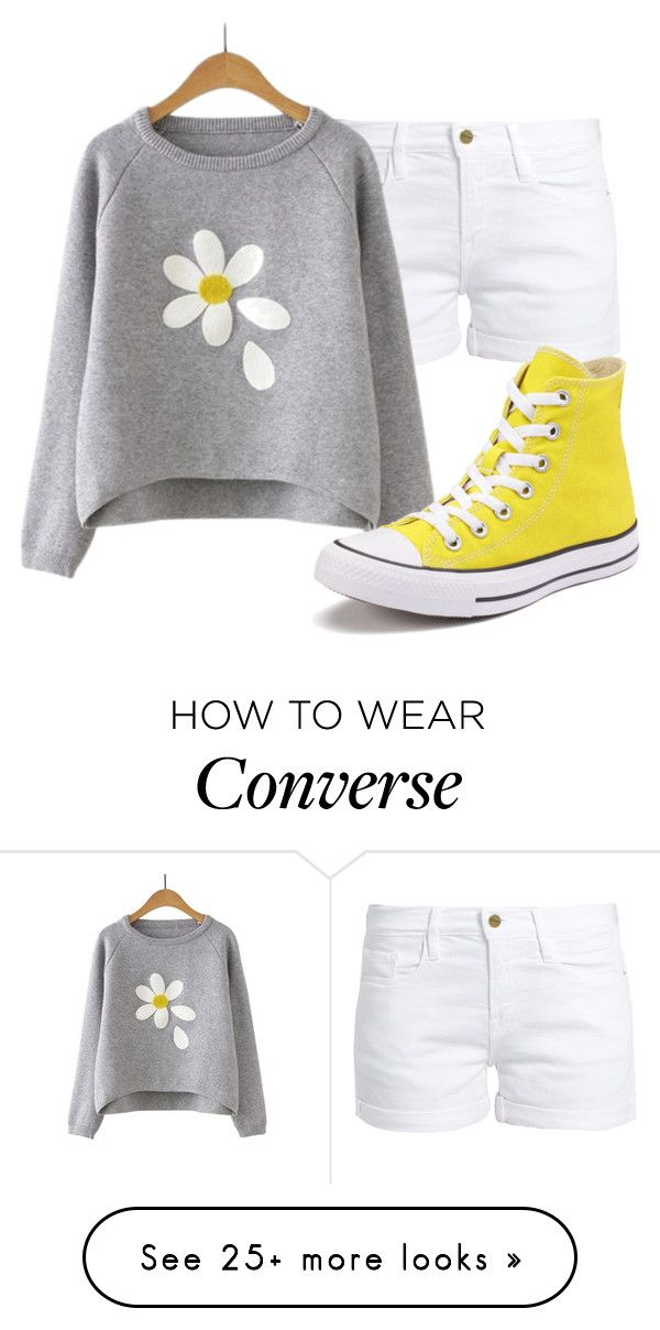 """"" by sydthekyd01 on Polyvore featuring Frame and Converse"