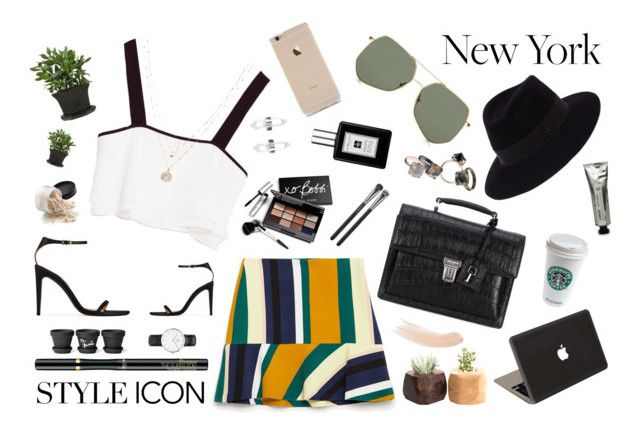 Style icon by afitabiyigun on Polyvore featuring polyvore, fashion, style, Zara, Ralph Lauren, Yves Saint Laurent, Valentine Goods, Made Her Think, Daniel Wellington, Amber Sceats, LC Lauren Conrad, Maison Michel, Grey Ant, L'Oréal Paris, Topshop, MAC Cosmetics, Jo Malone, L:A Bruket, Bobbi Brown Cosmetics and clothing