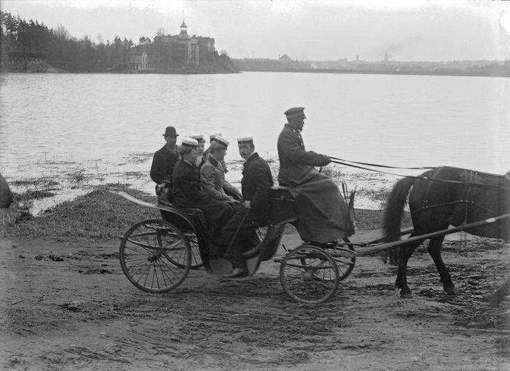 Töölönlahti, Helsinki. Svenska litteratursällskapet i Finland Gustaf Sandberg 1900
