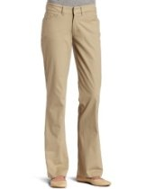 Dickies Womens Relaxed Straight Stretch Twill Pant