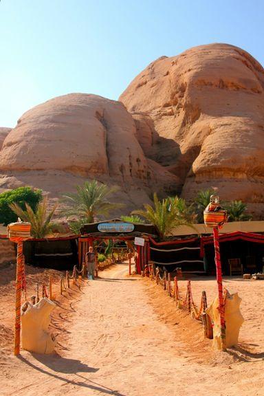 Captain's Desert Camp in Wadi Rum, Jordan
