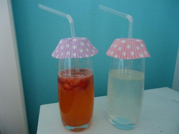 Ideal for the hot summers. No more bugs in your drinks anymore!