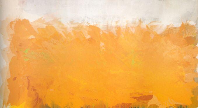 Albert Irvin Hannibal 1975 244 x 427cm