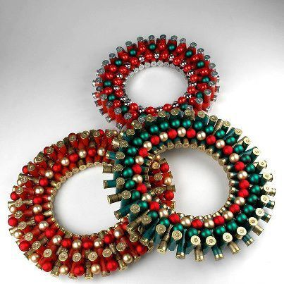 shotgun shell wreath | probably the best shotgun shell wreath i have ever seen