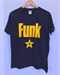 Funk-a-lismo! Tシャツ (Navy × Yellow)