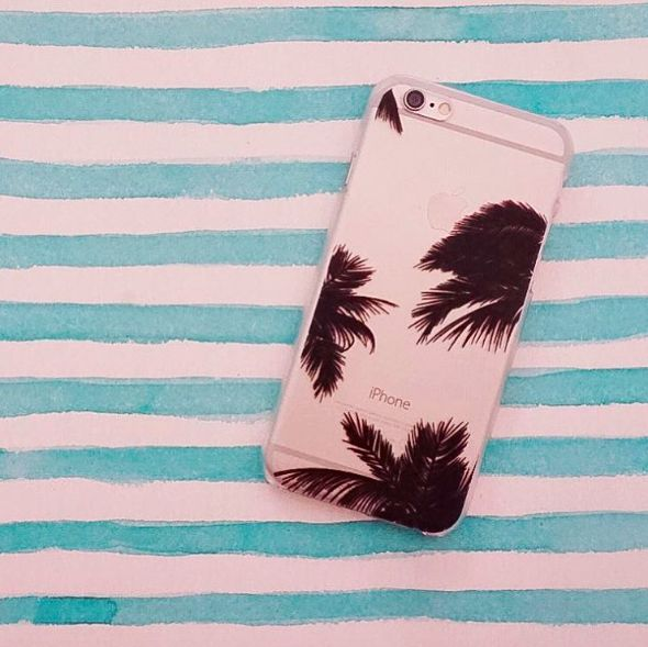 Palms Hard PC Mobile Phone Case for iPhone