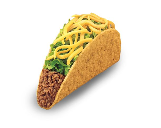 Taco Bell is one of our regulars for fast food.