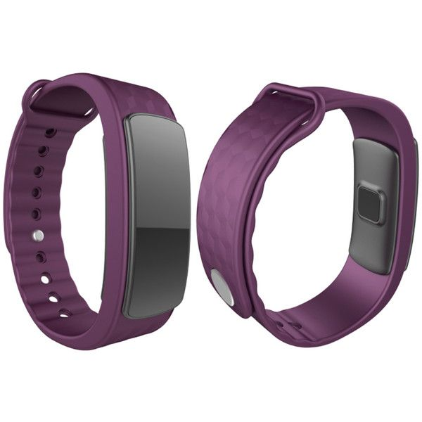 Women's TechComm I3HR Waterproof Fitness Tracker with Heart Rate... ($45) ❤ liked on Polyvore featuring jewelry, watches, jewelry & watches, purple, women's watches, purple watches, heart jewellery, water proof watches, purple jewelry and heart-shaped jewelry