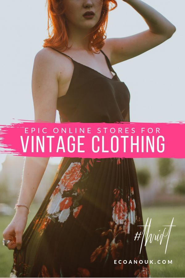 Wondered Where You Can Get 80s Vintage Clothing Online Or Where You Can Go Vintage Shopping Fo Vintage Clothing Stores Vintage Clothing Online Vintage Outfits