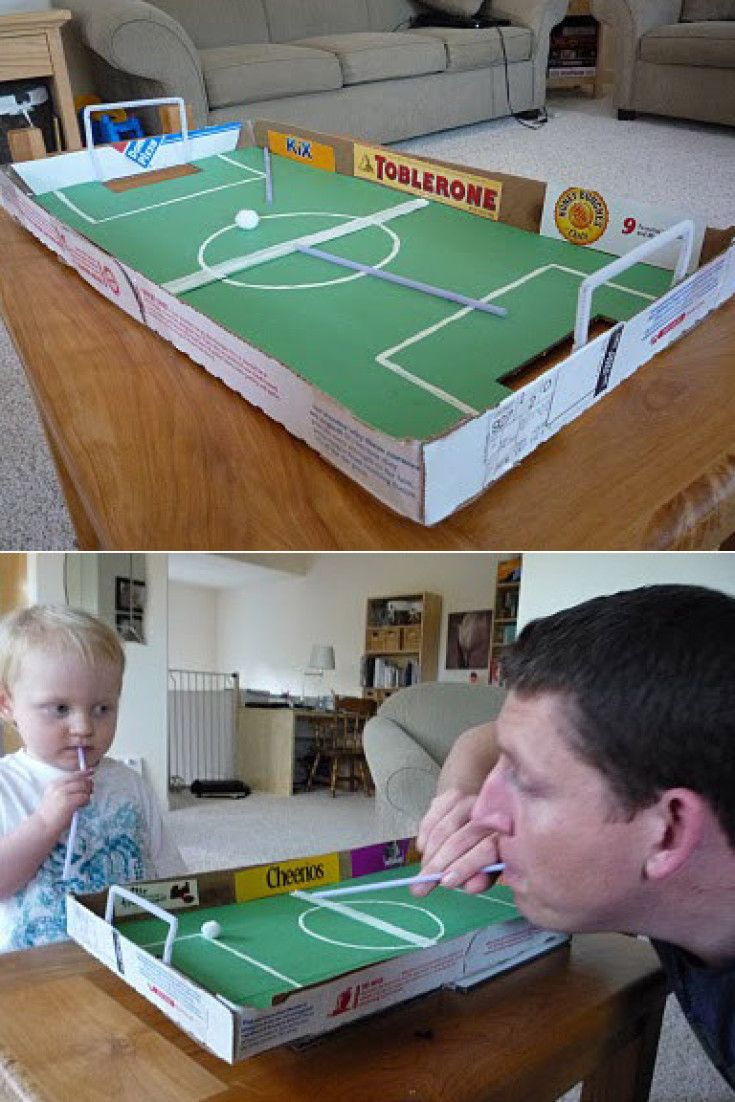 Kids' Toys You Can Make Out Of A Pizza Box