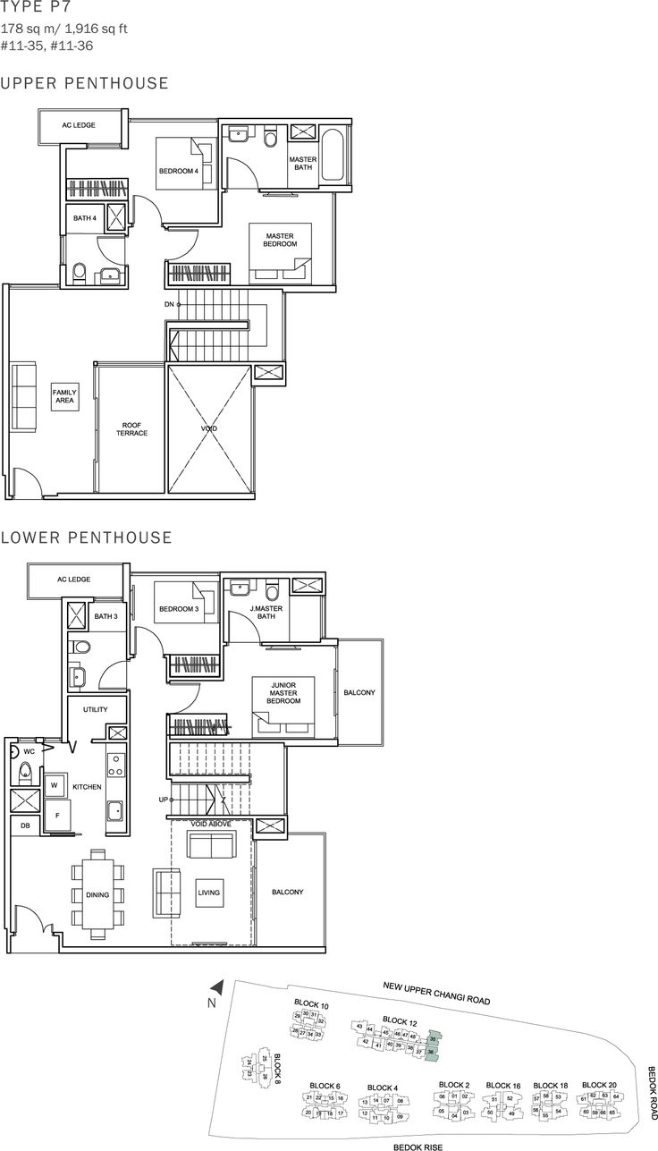 The Glades Condo Floor Plan - 4BR Penthouse - P7 - 178 sqm-1916 sqft.JPG