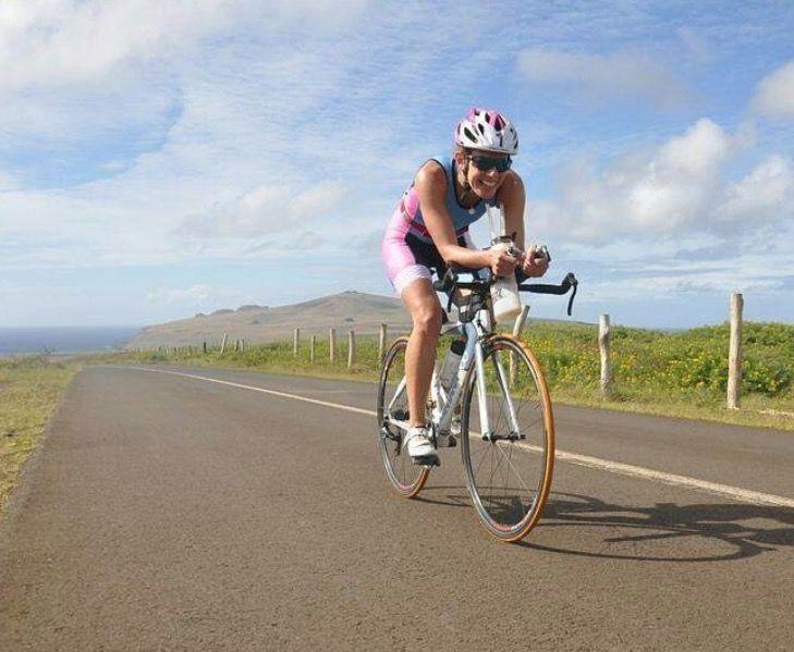 Ciclismo femenino Trisuit summer Www.sweetswest.cl @sweetsweatss