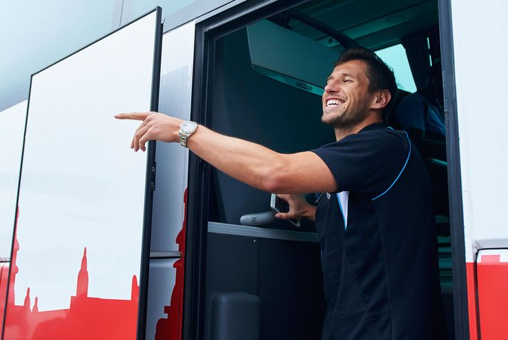 Grzegorz Krychowiak Photos Photos - In this handout image provided by UEFA, Grzegorz Krychowiak of Sevilla arrives at Frederic Chopin Airport on the eve of the UEFA Europa League Final between Dnipro Dnipropetrovsk and Sevilla FC on May 26, 2015 in Warsaw, Poland. - Previews - UEFA Europa League Final