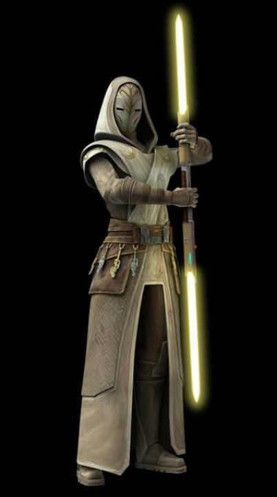 Jedi temple guard - look at that mask.