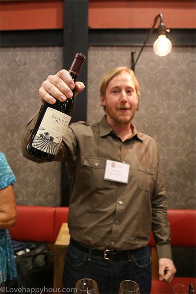 Trey Fletcher: winemaker at Solomon Hills in Santa Maria Valley.