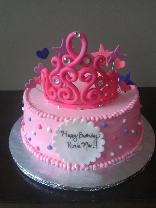 GIRLS FIRST BIRTHDAY CAKE First birthday cakes, Kids