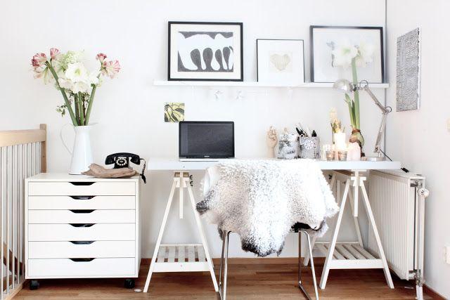 my scandinavian home: home office