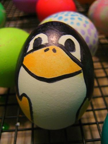 Penguin Easter egg