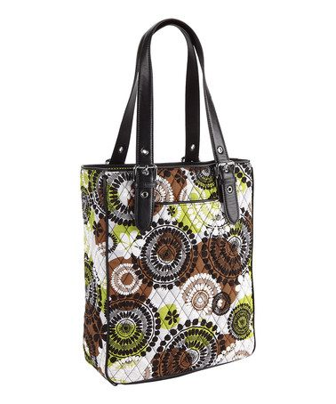 Love this Cocoa Moss Buckle Tote by Vera Bradley on #zulily! #zulilyfinds