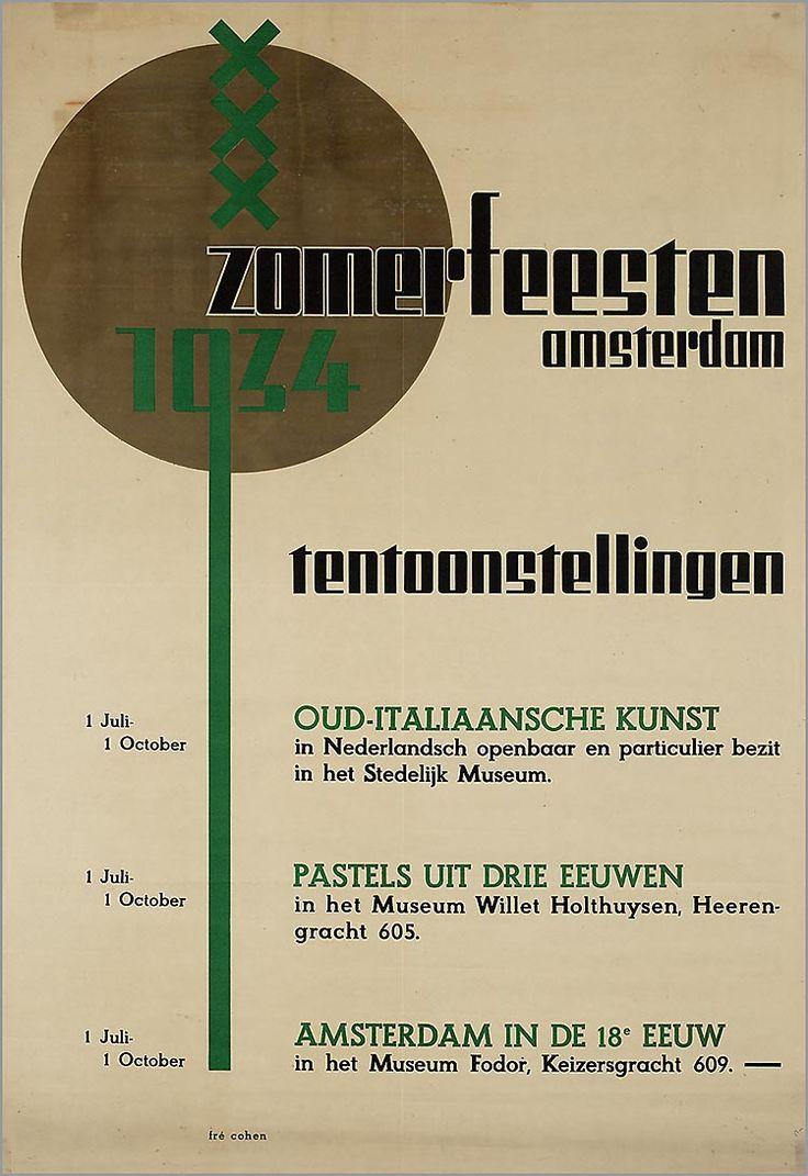 Zomerfeesten Amsterdam. Tentoonstellingen Oud-Italiaanse Kunst in Stedelijk Museum Amsterdam (...)