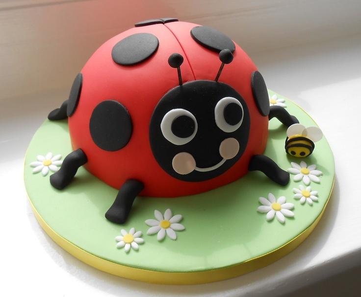 Ladybird cake by The Little Velvet Cake Company