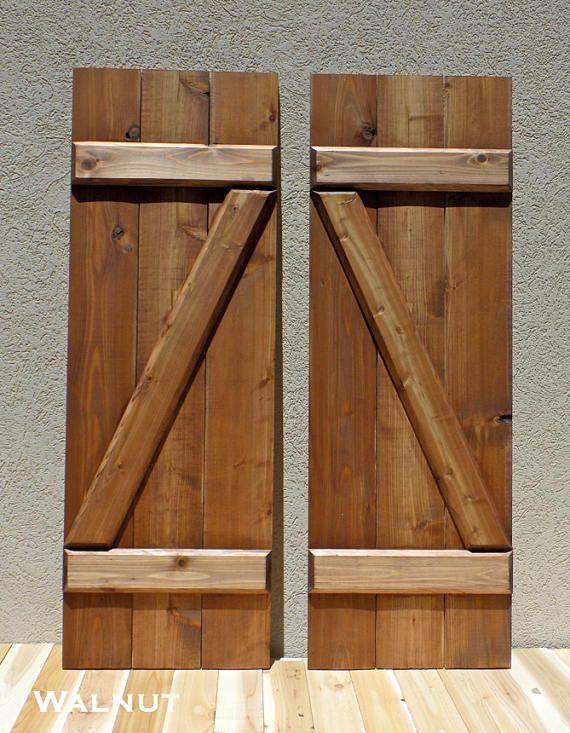 25 Best Ideas About Cedar Shutters On Pinterest Wood
