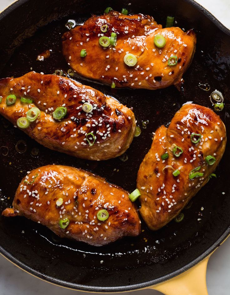 The 150 Most Delish Skillet Dinners Honey Garlic Chicken Baked Honey Garlic Chicken