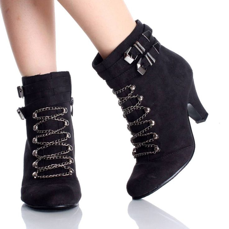 Black Suede 3in Heel $17