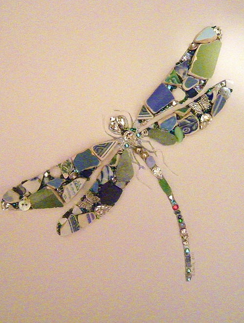 A beautiful Joanne Smith dragonfly