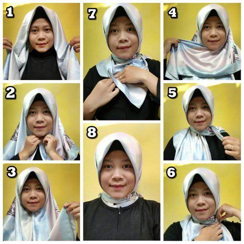 Tutorial Hijab Panjang Simple Hijab Gaya Hijab Tutorial Hijab Pashmina