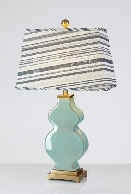 最灯饰现代美式法式地中海台灯