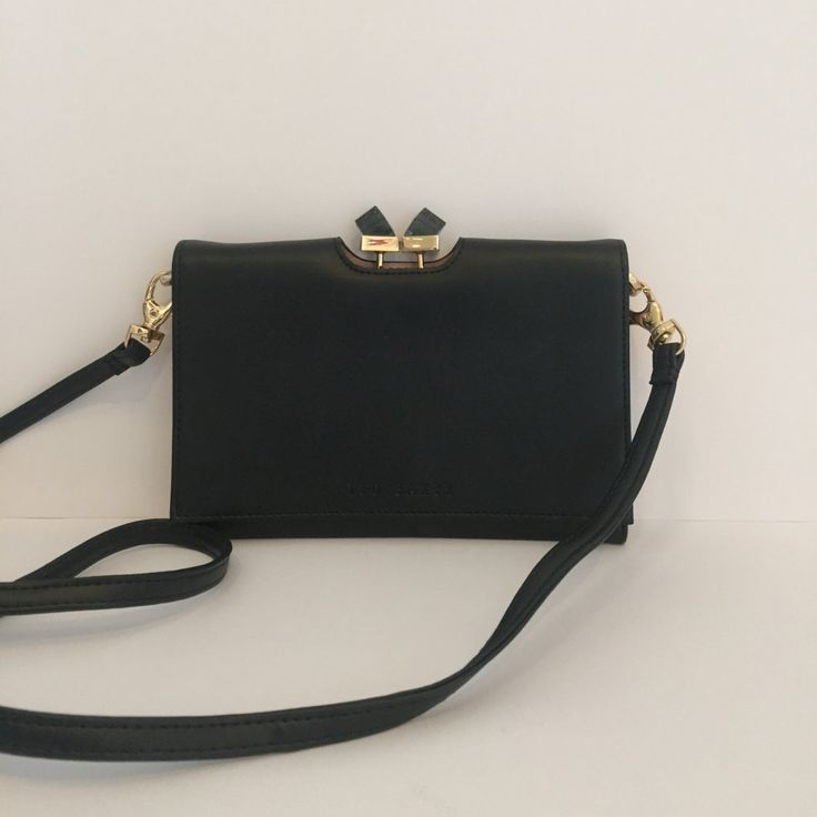 Authentic Ted Baker black bag. like new. by Passerellafashion on Etsy