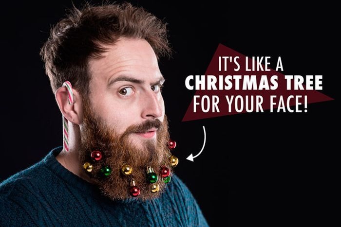 Beard Ornaments – Get Your Beard Into The Holiday Spirit
