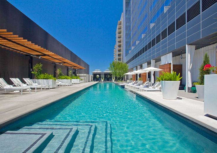 This modern chic hotel is located in the heart of downtown Austin. With a rooftop pool, highly acclaimed spa and walking access to Austin's most talked about nightlife, W Austin is a must consider for your traveling guests. #guestaccommodations #bridesofaustin #austinwedding