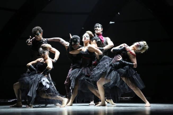 """SO YOU THINK YOU CAN DANCE: The top 6 contestants perform a dance routine to """"Scream"""" choreographed by Sonya Tayeh"""