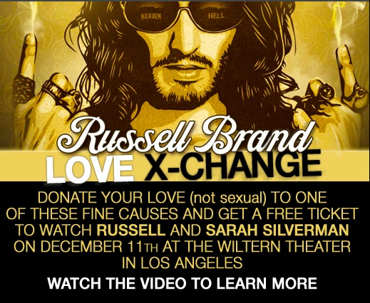 Many may balk at my inclusion of Russell Brand in this random listing, finding his prattling on about drug and sex addiction tedious in the extreme. I personally adore his joyous reclaiming of some thoroughly British words and phrases. The way he puts words together is touching and sweet. Sorry, but I kind of like him