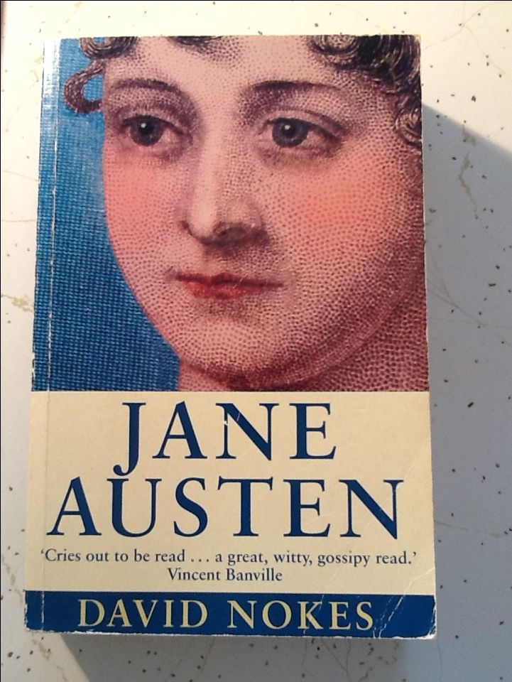 The 1997 biography of Jane Austen by David Nokes.